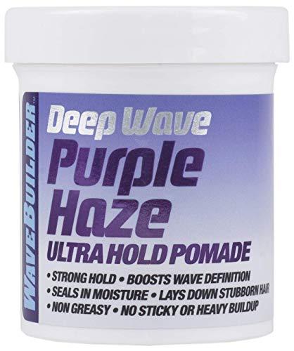 Wavebuilder Deep Wave Purple Haze Ultra Hold Pomade, 3.0 Ounce