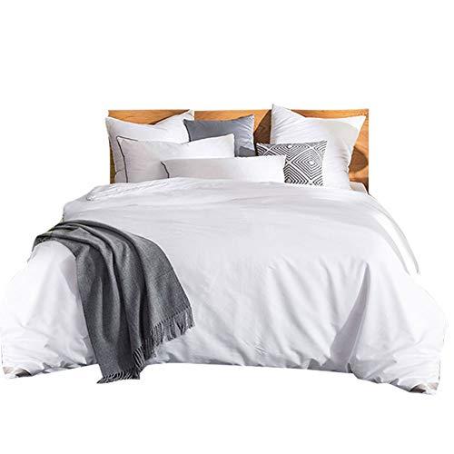 THXSILK Silk Comforter for Summer with Cotton Shell, Silk Filled Comforter,Silk Quilt, Silk Duvet -Ultra Soft, Light Weighted-100% Top Grade Silk, Queen Size, White