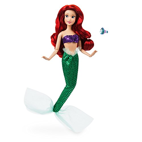 Disney Ariel Classic Doll with Ring - The Little Mermaid - 11 ½ inches