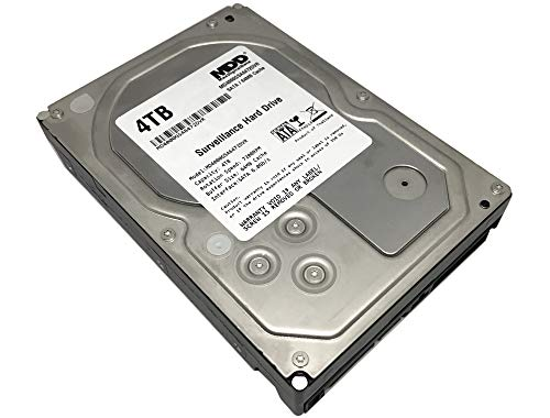 MaxDigitalData 4TB 64MB Cache 7200PM SATA 6.0Gb/s 3.5' Internal Surveillance CCTV DVR Hard Drive (MD4000GSA6472DVR) - w/ 2 Year Warranty