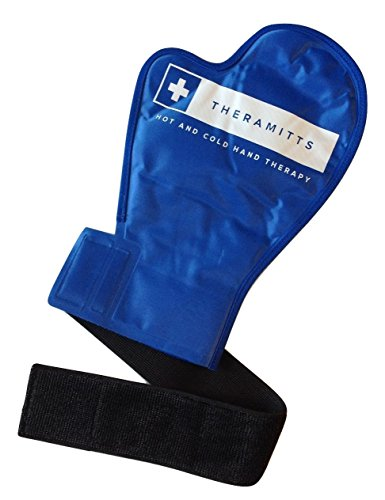 Hot and Cold Therapy Gel Glove (Single) - Ice and Heat Therapy Mitten for Arthritis, Finger and Hand Injuries, and Carpal Tunnel (Hot Cold Gel Pack)
