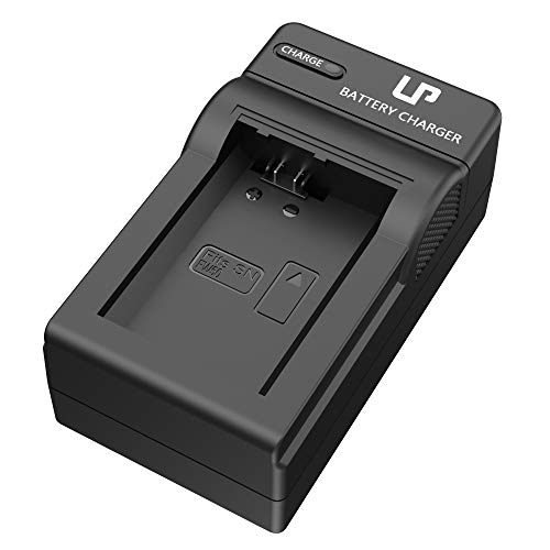 NP-FW50 Battery Charger, LP Charger Compatible with Sony Alpha A6000, A6400, A6100, A6300, A6500, A5100, A7, A7 II, A7R, A7R II, A7R2, A7S, A7S II, A7S2, A5000, A3000, A55, RX10, NEX-3/5/7 Series