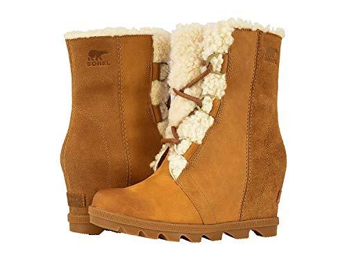 Sorel Women's Joan of Arctic Wedge II Lux Boots, Camel Brown, 8.5 M US