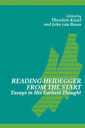 Reading Heideger From the Start: Essays in His Earliest Thought (SUNY Series in Contemporary Continental Philosophy)
