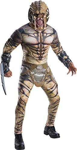 Rubie's Men's Deluxe Predator Adult Costume, as Shown, Extra-Large