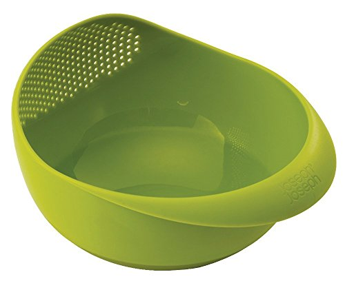 Joseph Joseph Prep & Serve Multi-Function Bowl with Integrated Colander, Small, Green