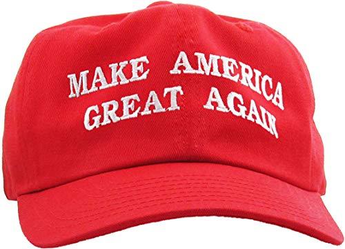 Make America Great Again - Donald Trump 2016 Campaign Cap Hat (003) Red