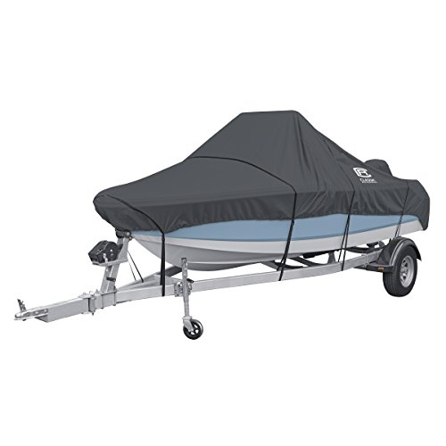 Classic Accessories StormPro Waterproof Heavy-Duty Center Console Boat Cover, Fits boats 20 - 22 ft long x 106 in wide