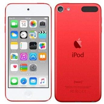 Apple iPod Touch 16GB Red (6th Generation) (Renewed)