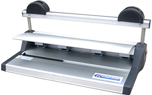 Tamerica SB-41 SecureBind (Velo) Binding Machine, For Light to Moderate Use, 4-pin Puncher and Binder, 20 Sheets (20lb paper) Max. Punching Capacity, Heavy Duty Construction