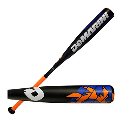 DeMarini 2016 Voodoo Raw -10 Big Barrel Baseball Bat 2 3/4'
