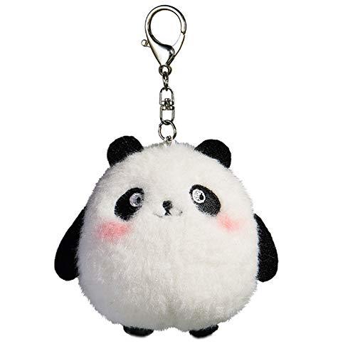 Ruzucoda Plush Panda Keychain Stuffed Animal Ornaments Pendant