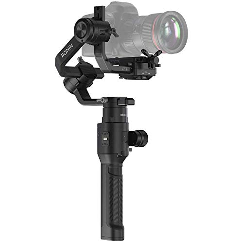 DJI Ronin-S - Camera Stabilizer 3-Axis Gimbal Handheld for DSLR Mirrorless Cameras up to 8lbs / 3.6kg Payload for Sony Nikon Canon Panasonic Lumix, Black
