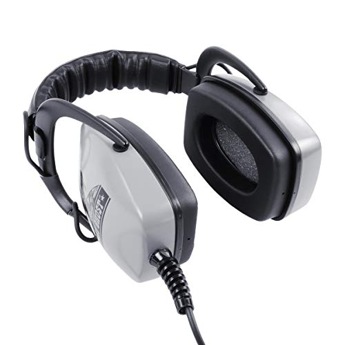 DetectorPro Gray Ghost Deep Woods Metal Detector Headphones