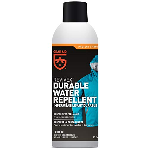 Gear Aid Revivex Durable Water Repellent (DWR) Spray for Reproofing Jackets , 10.5 fl oz