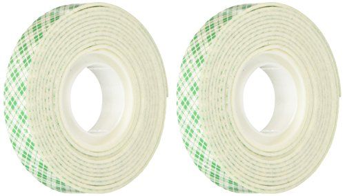 3M Scotch Mounting Tape, .5-Inch by 75-Inch, 2-PACK