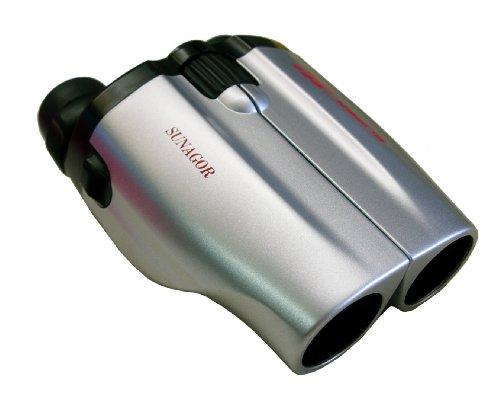 Sunagor Compact Zoom Binoculars 25-110x30,Silver/Black