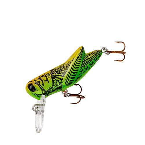 Rebel Crickhopper Fishing Lure - Green Grasshopper - 1 1/2 in