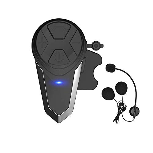 THOKWOK Motorcycle Bluetooth Intercom,BT-S3 1000m Helmet Bluetooth Headset, Motorcycle Bluetooth Communication System for Ski/ATV/Dirt Bike/Off Road Up to 3 Riders(Boom Microphone, Pack 1)