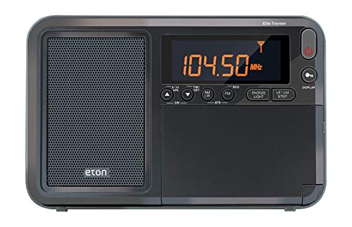 Eton Elite Traveler AM/FM/LW/Shortwave Radio with RDS & Custom Leather Carry Cover