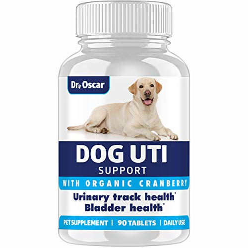 NEW Organic Dog UTI Treatment, More Complete Urinary Tract Infection Treatment for Dogs vs Competitors. The Only Dog UTI Supplement with Hibiscus - More Potent vs Cranberry Pills for Dogs, Made in USA