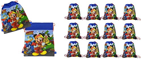 Mickey Mouse 14 inch Sling Bags Drawstring x 12 bags