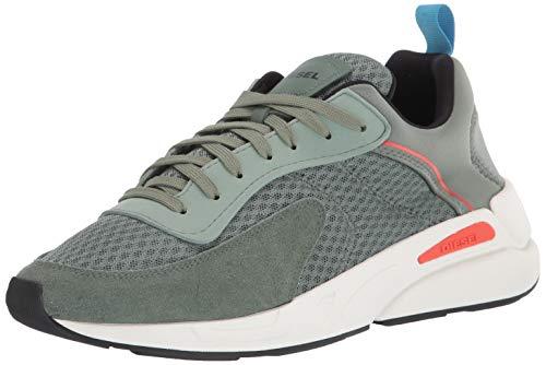Diesel Men's Fashion Sneaker, Sea Spray, 9.5