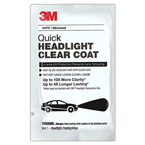 3M Headlight Clear Wipes 40/BX (3M-32516)