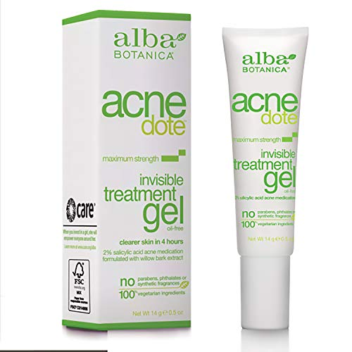 Alba Botanica Acnedote Maximum Strength Invisible Treatment Gel, 0.5 oz.