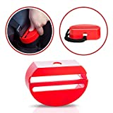 Car Seatbelt Buckle Guard - Child Safety Seat Belt Lock - Wididi Buckle Cover - Heavy Duty Durable Plastic - Pack of One - Car Accessories - Universal Fit
