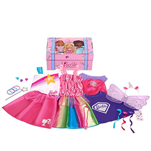 Barbie 21-Piece Dress Up Trunk - Amazon Exclusive