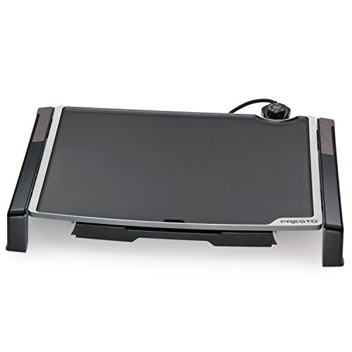Presto 07073 Electric Tilt-N-fold Griddle, 19', Black inch