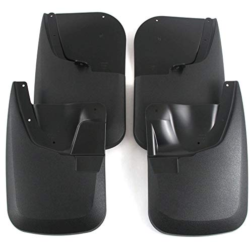 Red Hound Auto Heavy Duty Molded Mud Flaps Compatible with Ford Super Duty F250/F350 2011-2016 Mud Guards Splash Front & Rear 4pc Set (for Trucks Without Fender Flares)