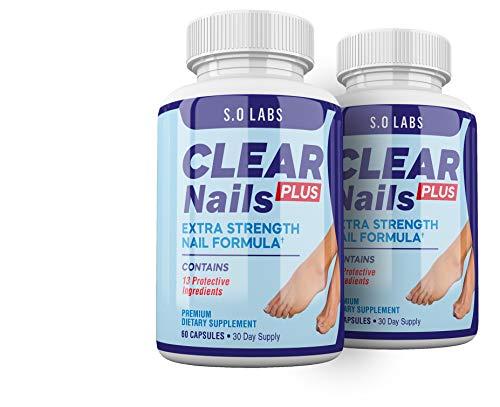Clear Nails Plus - Antifungal Probiotic Pills - 120 Capsules - Supplement (2 Month Supply)