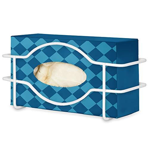 Stock Your Home Glove Box Dispenser (White) - Metal Glove Holder for Wall Mount - Glove Box Holder - Glove Holder on Wall - Glove Dispenser Wall Mount - Glove Box Holder Wall Mount - Gloves Holder