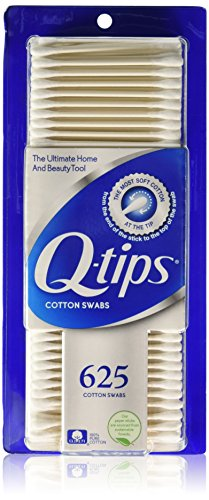 Q-Tips qtip, Cotton Swabs, 625 Count, Pack of 3