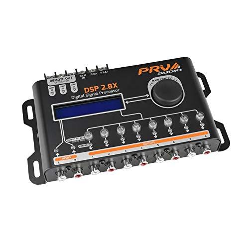 PRV AUDIO DSP 2.8X Crossover & Equalizer 8 Channel Full DSP Digital Signal Processor