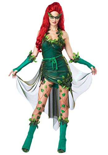 California Collection Lethal Beauty Poison Plus Size Costume 2X Kelly Green