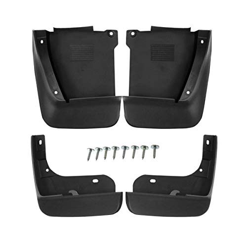 Set of 4 Front and Rear Mud Flaps Splash Guards for Honda Accord 2003-2007