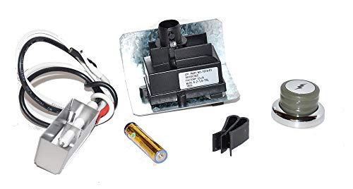 Weber 67726 Igniter Kit for Genesis 300 Series Grills with Metal Spark Box (Year 2007)