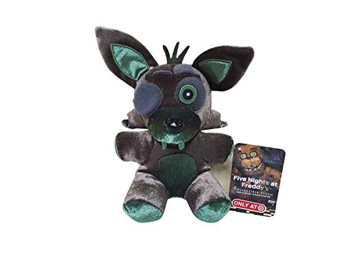 FNAF Plushies - Five Nights at Freddy's Plush FNAF Plushies - All FNAF Plushies - Plush Toys FNAF - Bear Foxy Chica Bonnie Plush Stuffed Toys 18cm - Doll for Kids Gifts (Black Fox)
