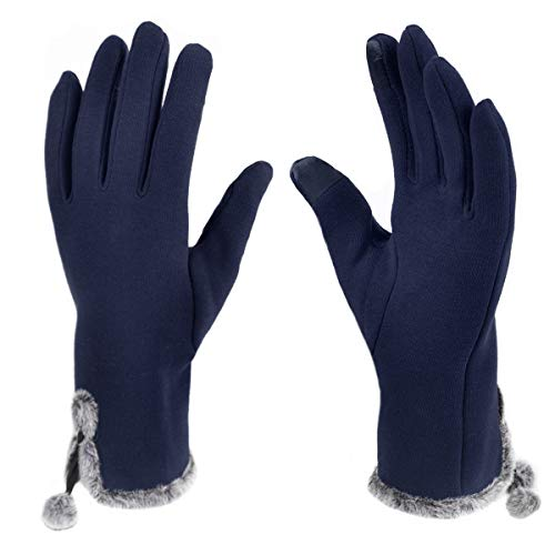 Nollia Touchscreen Winter Gloves & Mittens for Women + Smartphone Gloves for Cold Weather