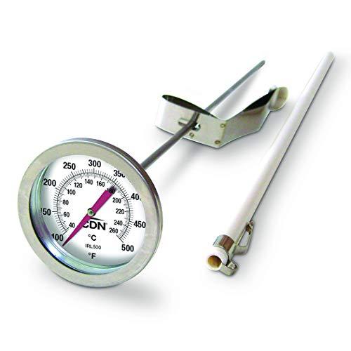 CDN IRL500 Long Stem Fry Thermometer – 12'