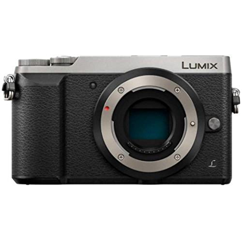 Panasonic LUMIX GX85 4K Mirrorless Interchangeable Lens Camera - Silver - Body Only (International Model) (Kit Box)
