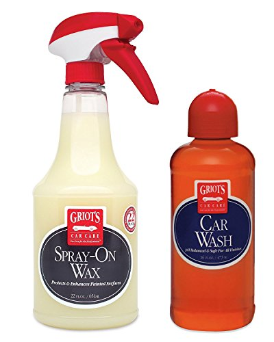 Griot's Garage Car Wash & Spray-On Wax Combo Pack