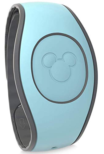 Disney Parks MagicBand 2.0 - Link It Later Magic Band - Light Teal Blue