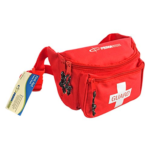 Primacare KB-8004 First Aid Fanny Pack, Red