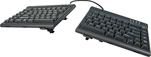 Kinesis Freestyle2 Ergonomic Keyboard w/ V3 Lifters for PC (9' Separation)