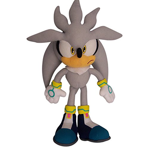 Great Eastern GE-8960 Sonic The Hedgehog 13' Plush Doll, Silver