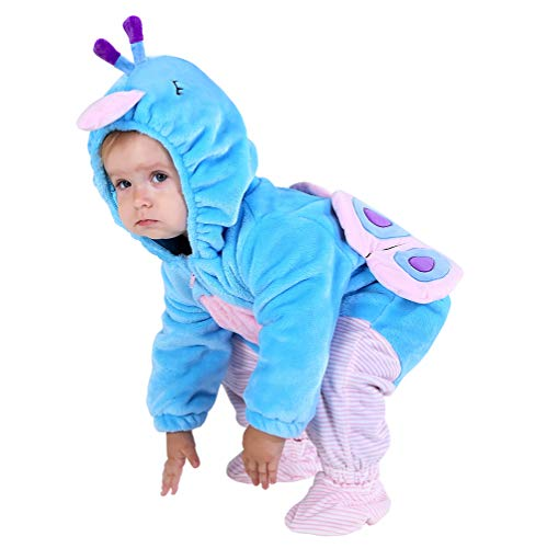 Hsctek Baby Peacock Costume Girls, Kids and Baby Costumes 12 18 Months, Toddler Infant Halloween Costume for Girls Boys